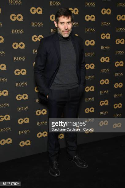 Jalil Lespert attends the GQ Men Of The Year Awards 2017 at Le Trianon on November 15 2017 in Paris France