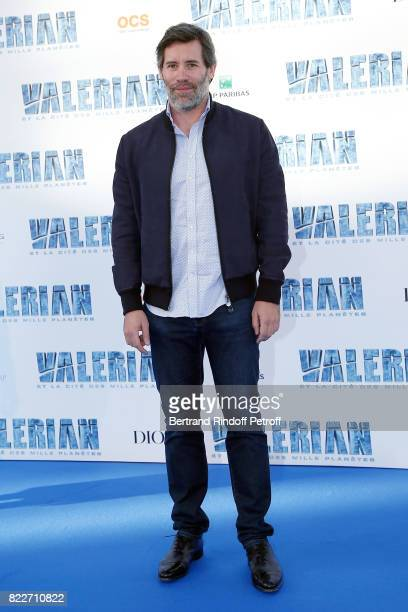 Jalil Lespert attends 'Valerian et la Cite des Mille Planetes' Paris premiere at La Cite Du Cinema on July 25 2017 in SaintDenis France