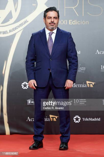 Jalis de la Serna attends 'Iris Academia de Television' awards at Nuevo Teatro Alcala on November 18 2019 in Madrid Spain