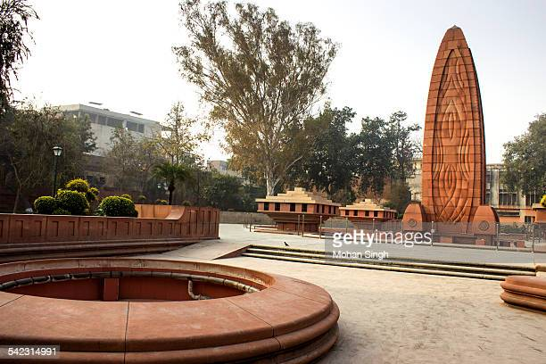 jallianwala bagh memorial, amritsar, punjab - amritsar stock pictures, royalty-free photos & images