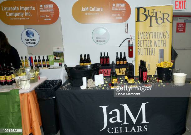 Jam Cellars booth at the Food Network Cooking Channel New York City Wine Food Festival presented by Capital One Beverage Media presents Southern...