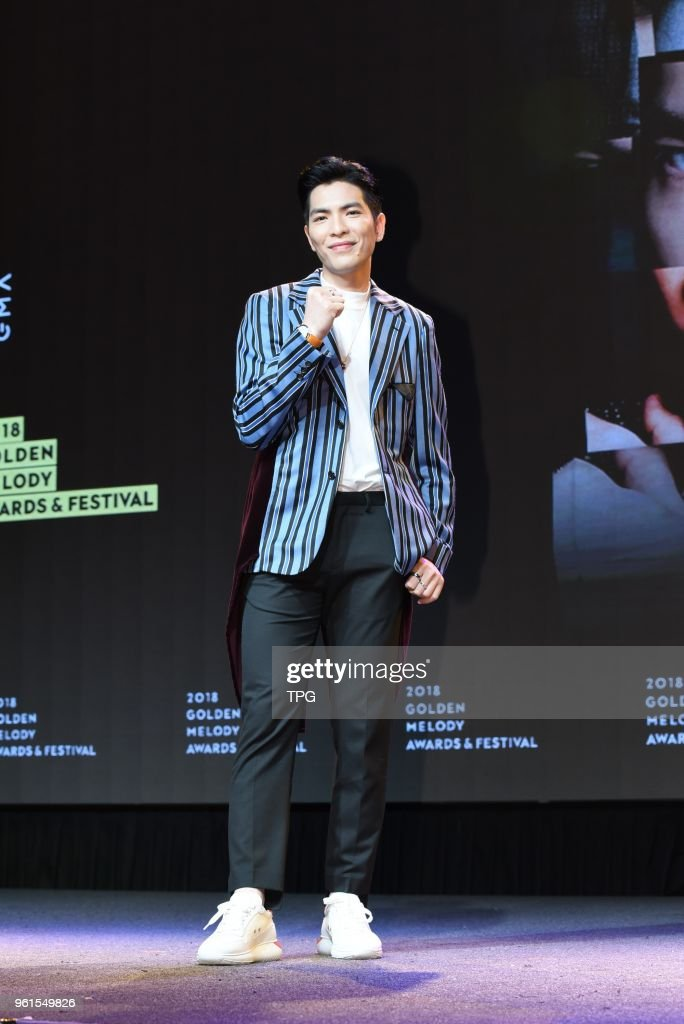 Jam Hsiao will host the 29th Golden Melody Awards : News Photo