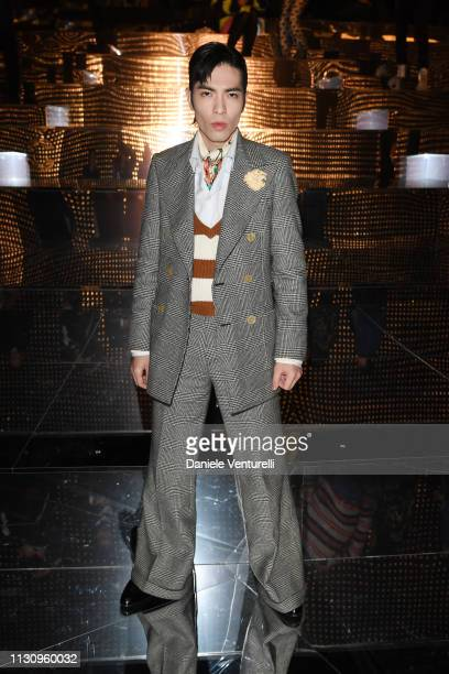 Jam Hsiao attends the Gucci show during Milan Fashion Week Autumn/Winter 2019/20 on February 20 2019 in Milan Italy