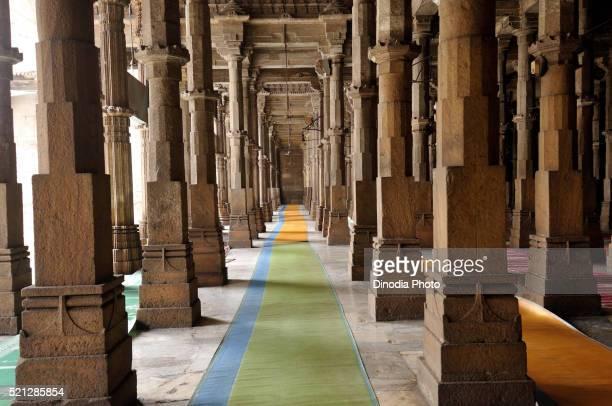 jama masjid, ahmedabad, gujarat, india, asia - namaz stock pictures, royalty-free photos & images