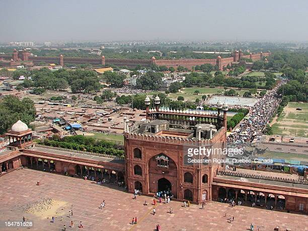Jama Masjid and Lal Qila