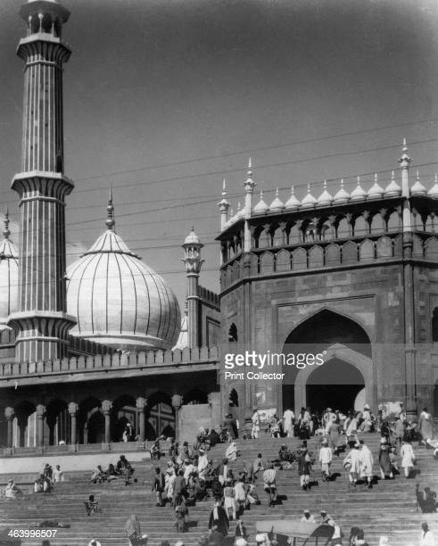 Jama Masjid Delhi India late 19th or early 20th century The Jama Masjid is one of the largest and most important mosques in India Commissioned by the...