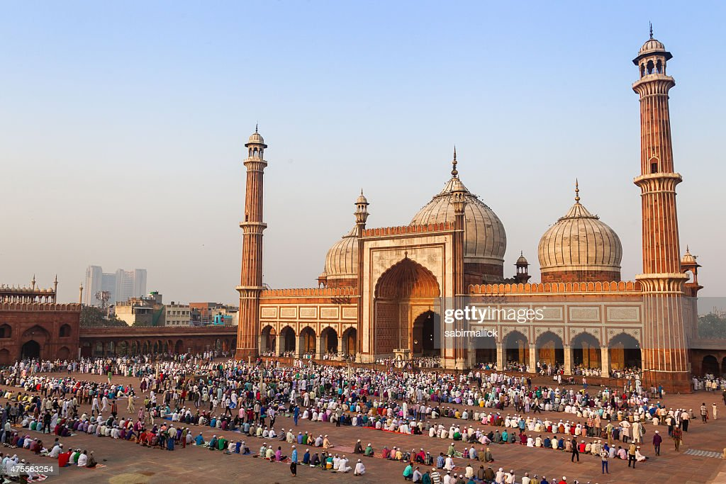 Delhi Jama Masjid Mosque Stock Pictures Royalty Free Photos