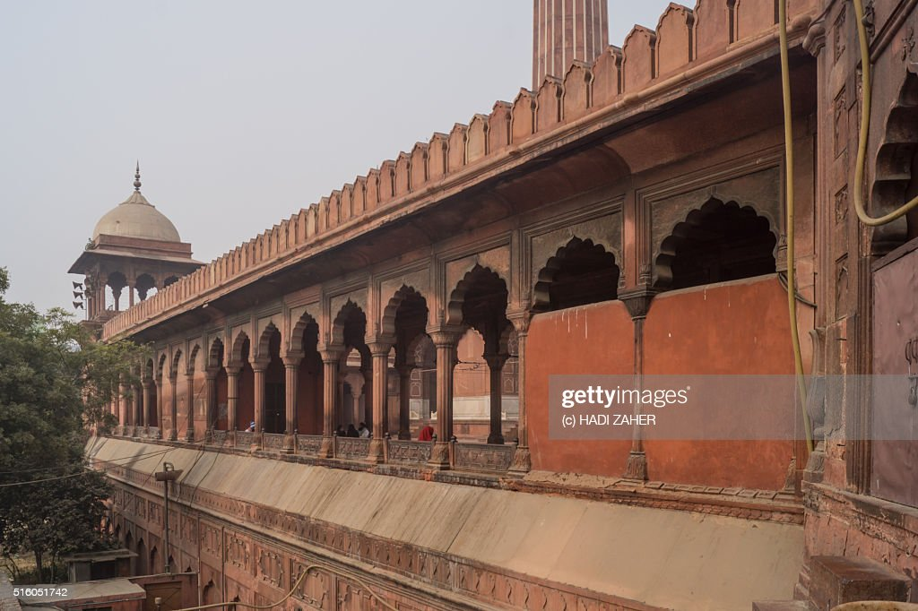 Jama Masjid   Delhi   India : Stock Photo