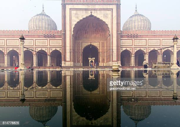 jama masjid, delhi - friday mosque stock pictures, royalty-free photos & images
