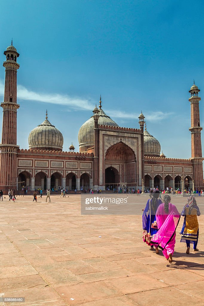 Jama Masjid, Delhi : Stock Photo