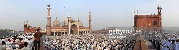 Jama Masjid EID Panorama Shot...