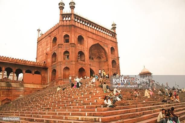 Jama Masjid entrance