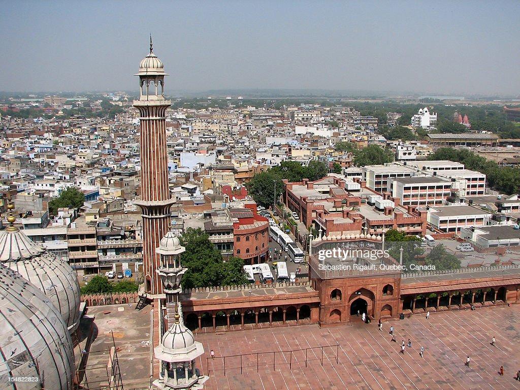 Jama Masjid in Delhi : Stock Photo