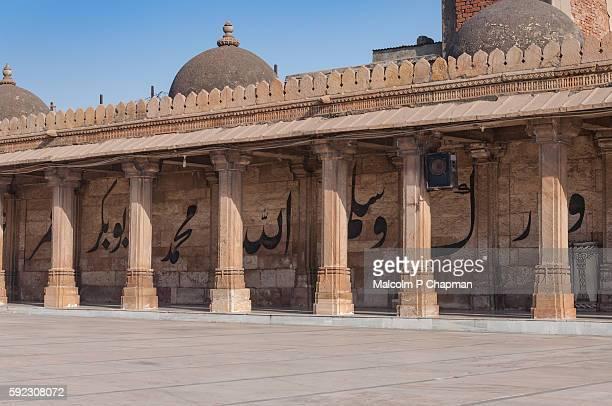 jama masjid, mosque, ahmedabad, gujarat, india - ahmedabad stock pictures, royalty-free photos & images