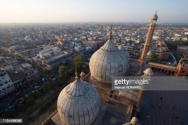 jama masjid mosque, delhi - friday mosque stock pictures, royalty-free photos & images