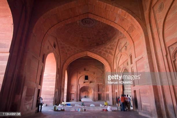 jama masjid mosque, fatehpur sikri - agra jama masjid mosque ストックフォトと画像