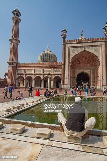 Jama Masjid Mosque, New Delhi, India