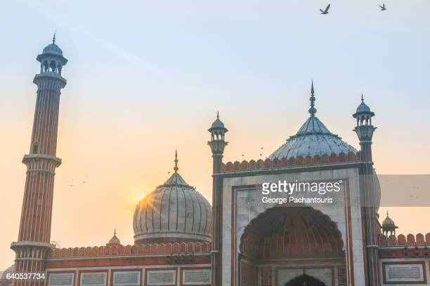 Jama Masjid mosque, New Delhi, India