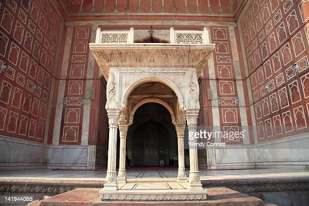 Jama Masjid Mosque old Delhi India