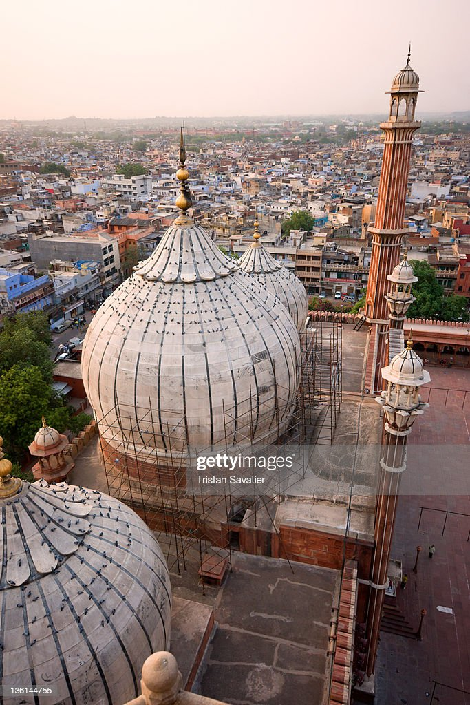 Jama Masjid Mosque : Stock Photo