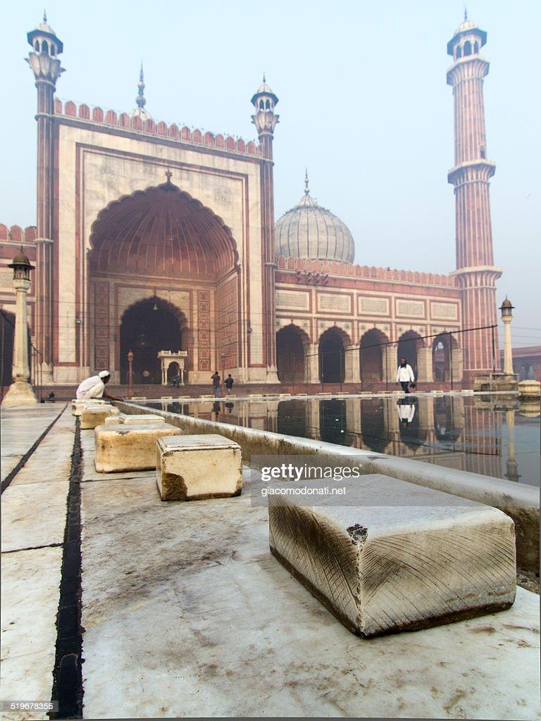 Jama Masjid Old Delhi : Stock Photo