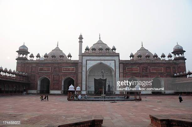 jama masjid - agra jama masjid mosque stock pictures, royalty-free photos & images