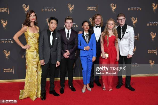Jama Williamson Lance Lim Ricardo Hurtado Breanna Yde Tony Cavalero Jade Pettyjohn and Aidan Miner attend day 2 of the 2017 Creative Arts Emmy Awards...
