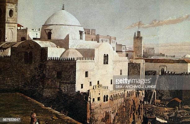 Jamaa alJdid mosque or Mosquee de la Pecherie Algiers Algeria 17th century