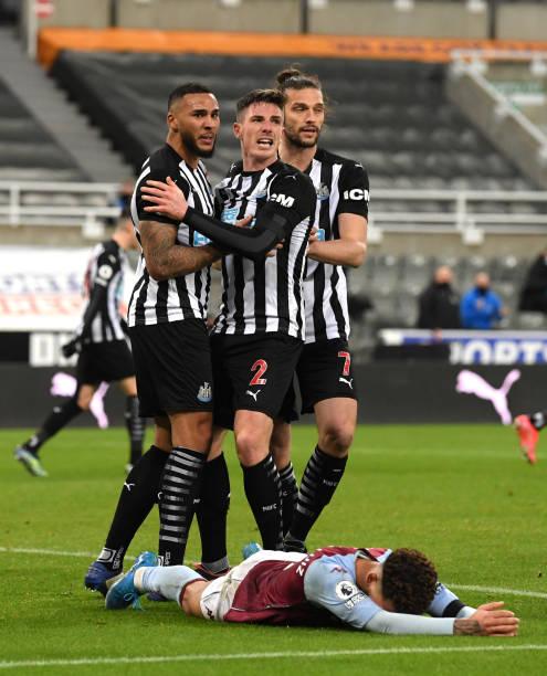 GBR: Newcastle United v Aston Villa - Premier League