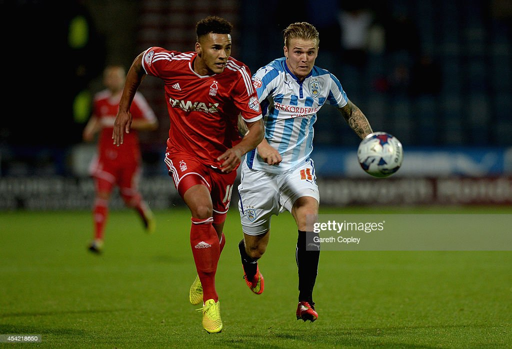Huddersfield Town v Nottingham Forest - Capital One Cup Second Round : News Photo