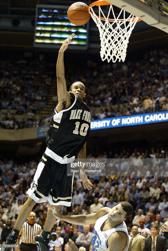 NCAA Men's Basketball 2003 - North Carolina vs Wake Forest