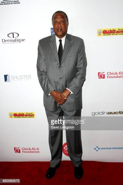 Jamaal Wilkes at the 17th Annual Harold Carole Pump Foundation Gala at The Beverly Hilton Hotel on August 11 2017 in Beverly Hills California