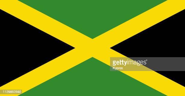 jamaica flag - jamaica imagens e fotografias de stock