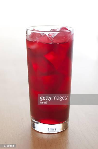 ジャマイカハイビスカスジュースのドリンク