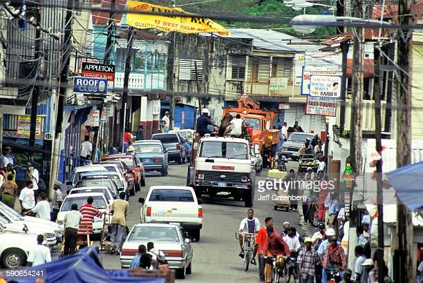 Jamaica Port Antonio West Street Activity