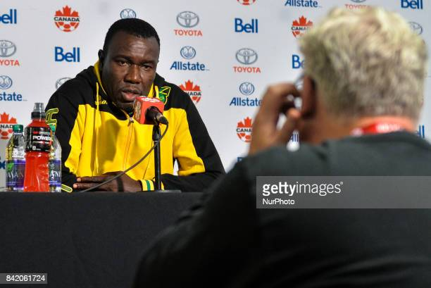 Jamaica Soccer Mens National Team Head Coach Theodore Whitmore during press conference after the CanadaJamaica Mens International Friendly match at...
