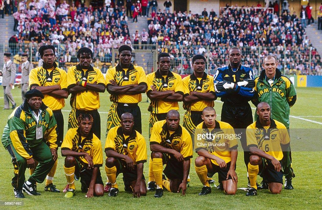 FIFA World Cup Finals 1998 Group H: Croatia v Jamaica : News Photo