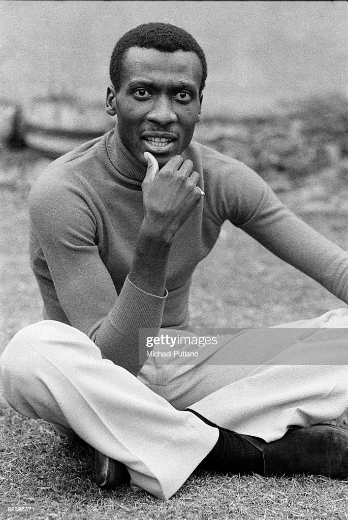 Jamaican actor, reggae singer and songwriter, Jimmy Cliff, London, 9th May 1974.