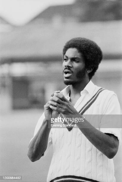 Jamaican cricket player Michael Holding UK 16th June 1976
