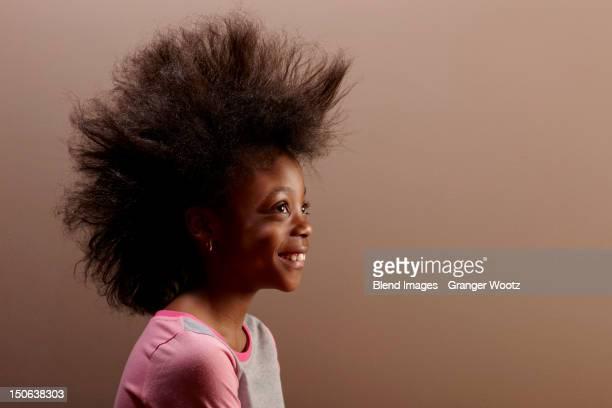 Jamaican girl with unusual hair