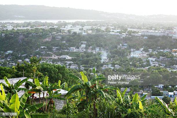 jamaican landscape - kingston jamaica stock pictures, royalty-free photos & images
