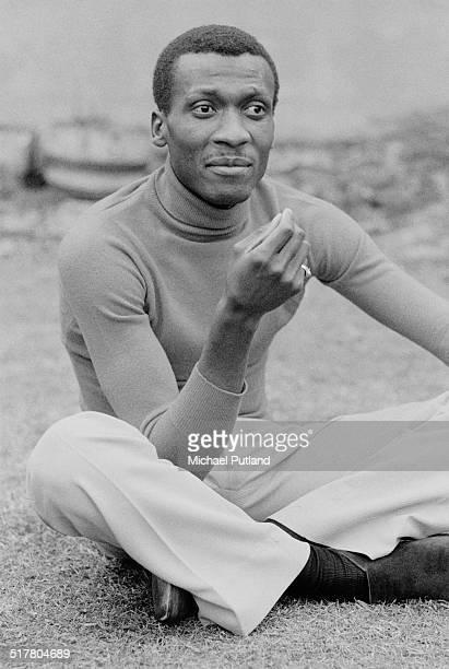 Jamaican reggae musician Jimmy Cliff London 9th May 1974