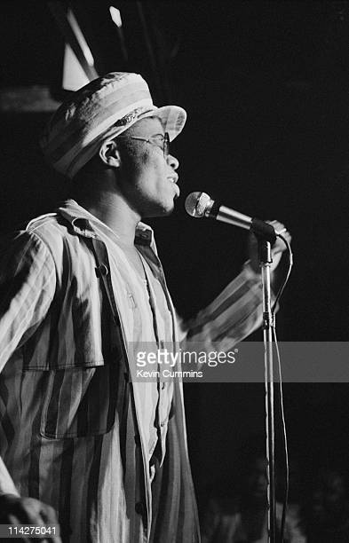 Jamaican reggae singer Dillinger performing at Rafters Manchester 3rd February 1978