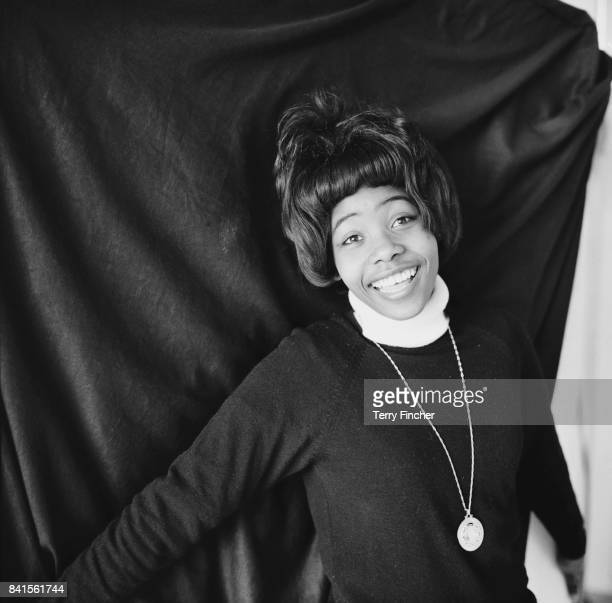 Jamaican singer and songwriter Millie Small 15th April 1964
