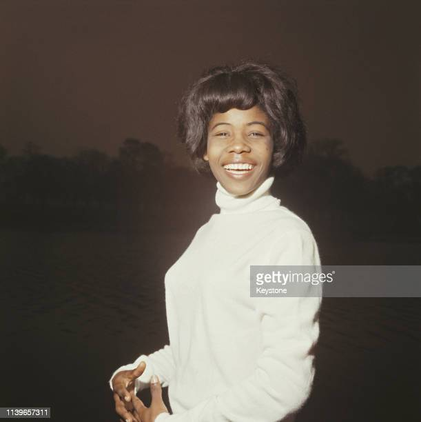 Jamaican singer and songwriter Millie Small circa 1965 She is best known for her 1964 recording of 'My Boy Lollipop'