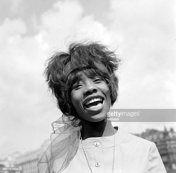 Jamaican singer Millicent Small who wrote the song My Boy Lollipop May 1964