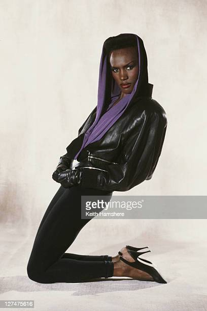 Jamaicanborn actress singer and model Grace Jones as May Day in the James Bond film 'A View To A Kill' 1984