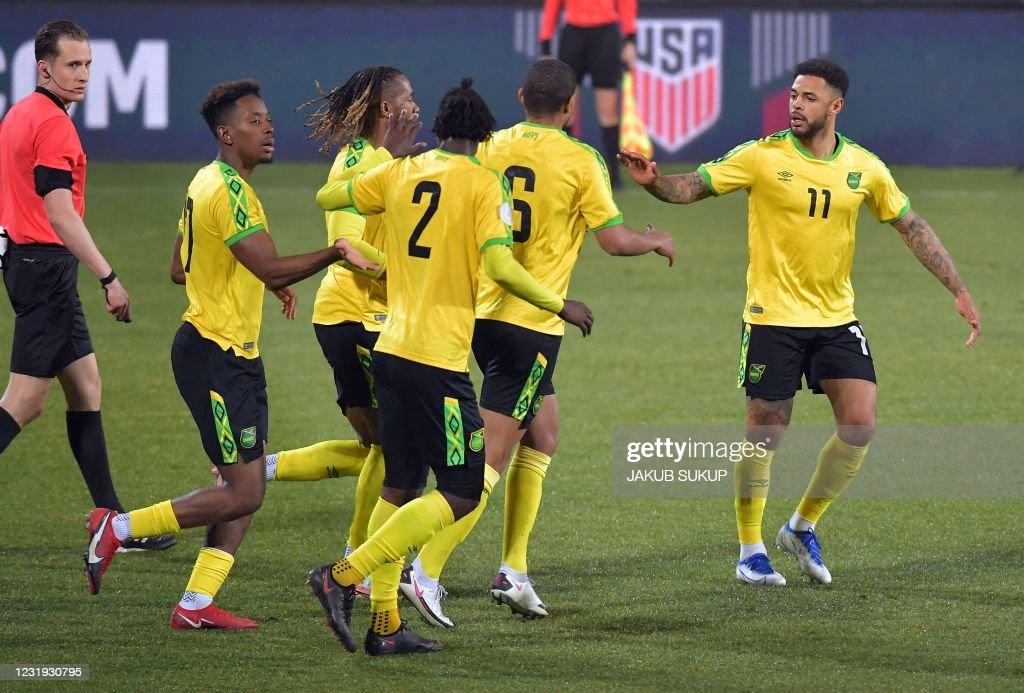 FBL-WC-2022-FRIENDLY-USA-JAM : ニュース写真