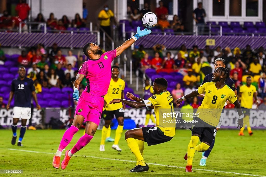 FBL-CONCACAF-GOLD-JAM-CRC : News Photo