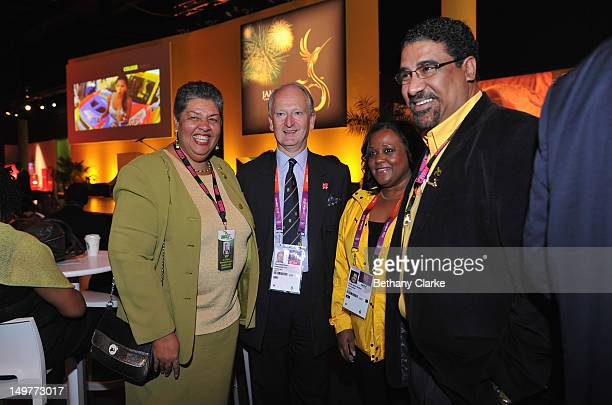 Jamaica's High Commissioner Her Excellency Aloun Ndombet Assamba Minister for Africa Henry Bellingham Natalie NeitaHeadley Minister of Tourism for...